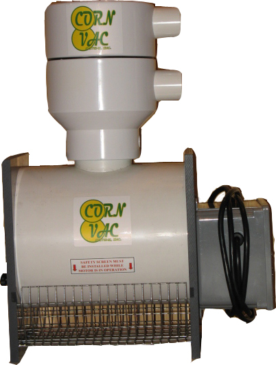 The Mobile Cornvac Unit will Clean and Transfer you bulk